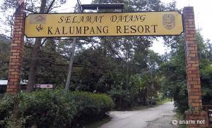 selamat datang kalumpang resort