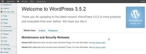 wordpress update 3.5.2
