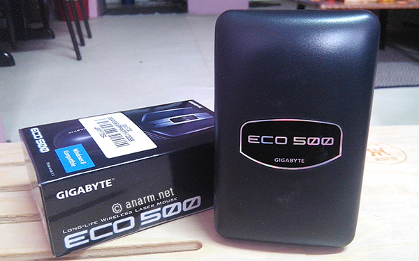 gigabyte mouse wireless eco 500
