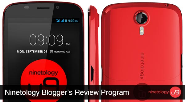 ninetology u9x1 bloggers review program