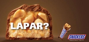 snickers malaysia hungry lapar