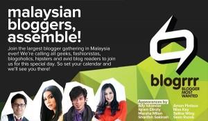 Perhimpunan Terbesar Blogger Malaysia - #blogrrr : Blogger Most Wanted