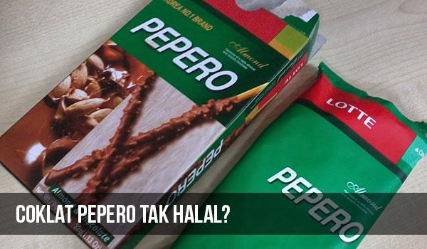 Coklat Pepero tiada sijil halal