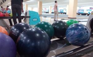 Bowling dengan rakan blogger di Plaza Alam Sentral