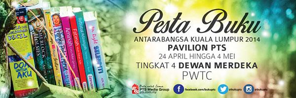 #BukuPTS di Pesta Buku Antarabangsa Kuala-Lumpur 2014