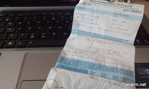 Surat saman parking Majlis Bandaraya Shah Alam