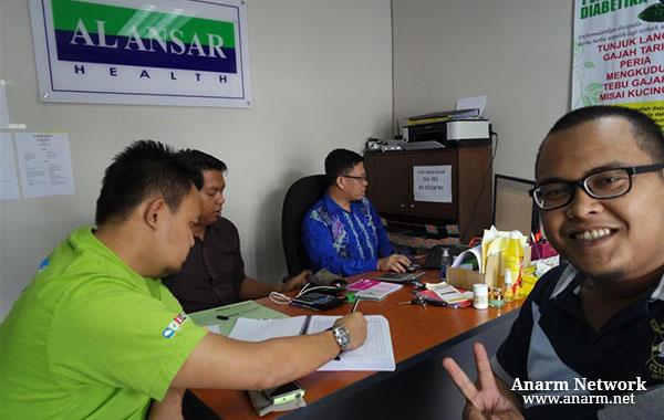 Rawatan resdung di Pusat Terapi Al Ansar Health, Shah Alam