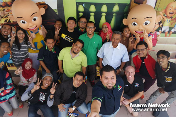 Blogger melawat Studio Les' Copaque di Seksyen 13, Shah Alam