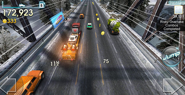 WeChat Speed All-Star Race jump truck