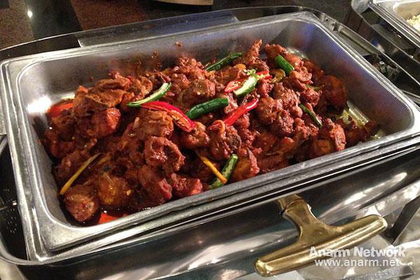Ayam masak merah Santapan 29 Malam
