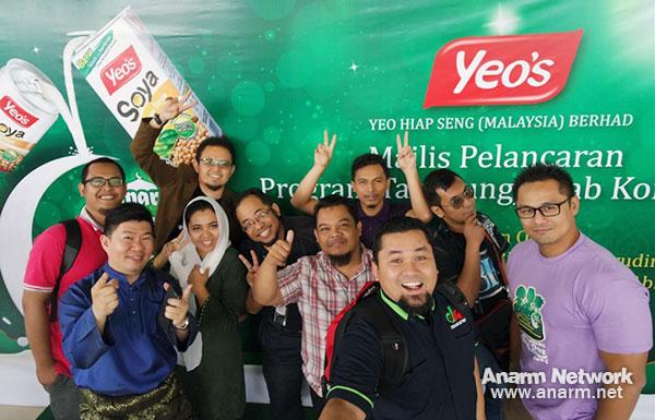 Blogger di majlis pelancaran program amal Ramadhan Yeo's