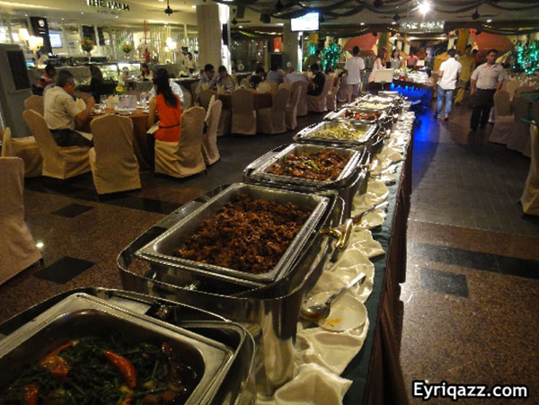 Dewan buffet Ramadhan di Tropicana Golf & Country Resort