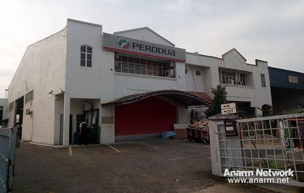 Frontline Motor pusat servis Perodua di Bandar Baru Bangi