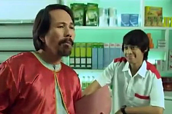 Iklan KitKat Nabil Abdul bersama M. Nasir