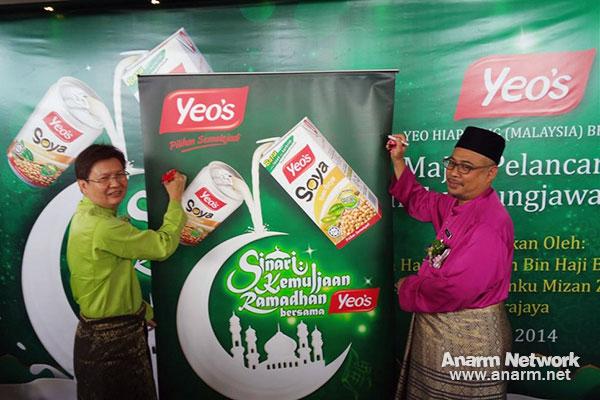 Imam Masjid Besi Putrajaya di Program Ramadhan Yeo's