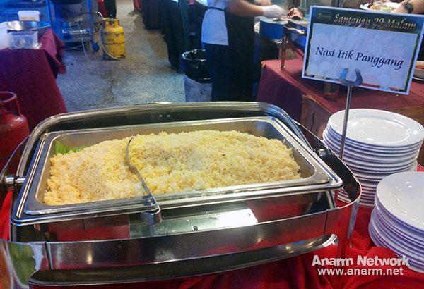Nasi Itik Panggang hidangan Santapan 29 Malam buffet Ramadhan