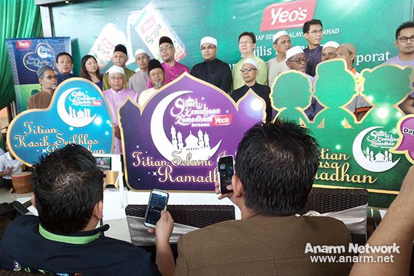 Pelancaran kempen Ramadhan Yeo's Malaysia