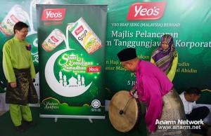 Pelancaran program amal Ramadhan Yeo's