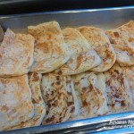 Roti canai Tropicana Golf & Country Resort