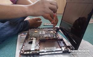 servis dan cuci kipas laptop