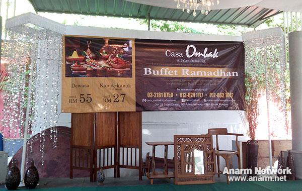 Buffet Ramadhan Casa Ombak Jalan Damai KL