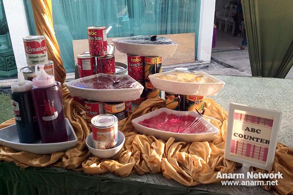 Casa Ombak ABC Counter untuk buffet Ramadhan
