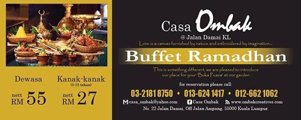 promosi buffet ramadhan casa ombak