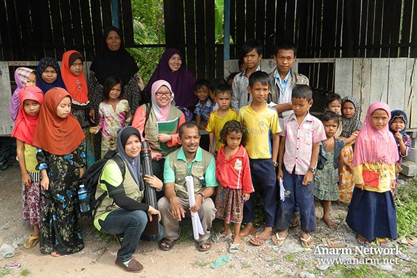 eQurban bersama penduduk kampung Kemboja