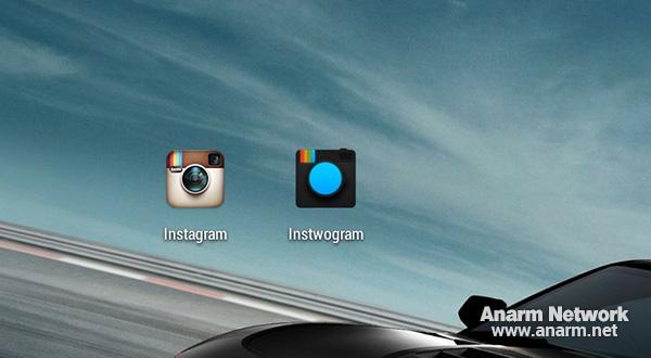 Instwogram - 2 akaun Instagram dalam satu phone