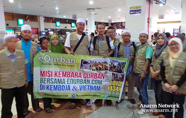 Misi Kembara Qurban di Kemboja 2013 bersama eQurban