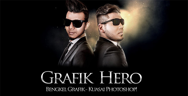 Bengkel Grafik Hero 2014 anjuran World Designer