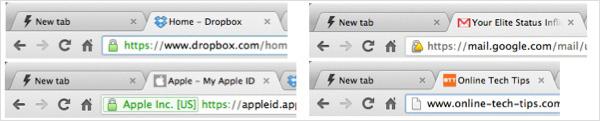 Contoh penggunaan HTTPS di laman web