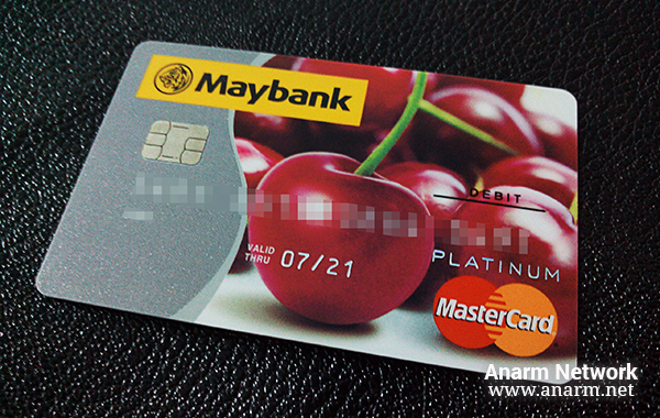 Maybank MasterCard Platinum Debit