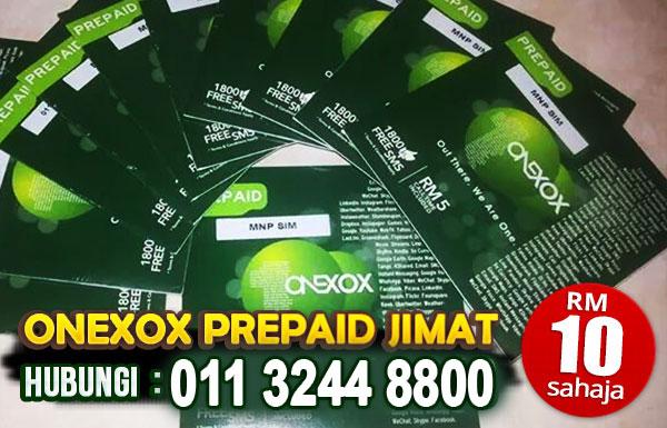 ONEXOX Prepaid Jimat