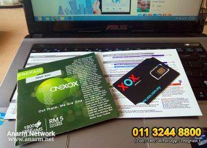 ONEXOX prepaid yang menjimatkan