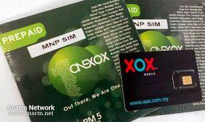 ONEXOX prepaid penjimatan dengan kadar murah