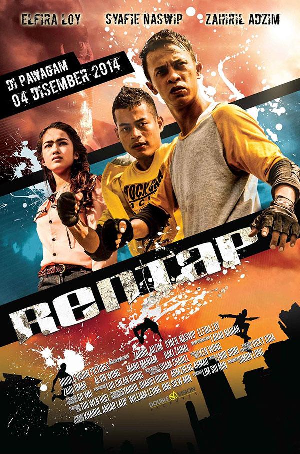 Rentap filem parkour Malaysia