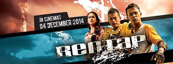 RENTAP filem Parkour pertama Malaysia