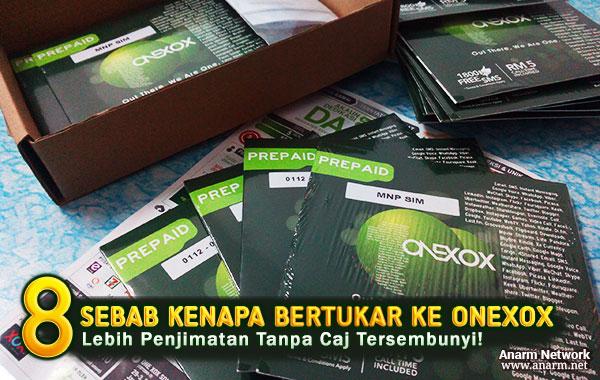 8 sebab kenapa perlu bertukar ke prepaid ONEXOX