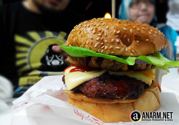 Burger Bakar Abang Burn Seksyen 7 Shah Alam