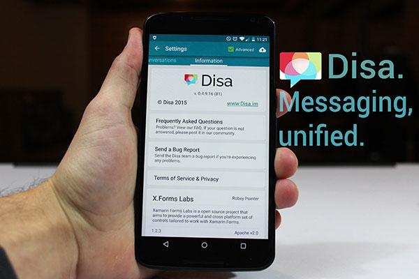 Disa - WhatsApp