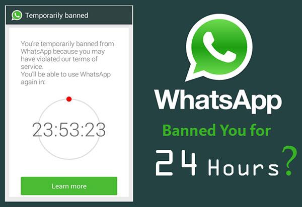 Whatsapp banned pengguna langgar terma dan syarat