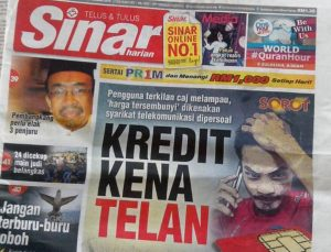 Kredit kena telan sebab caj tersembunyi syarikat telekomunikasi