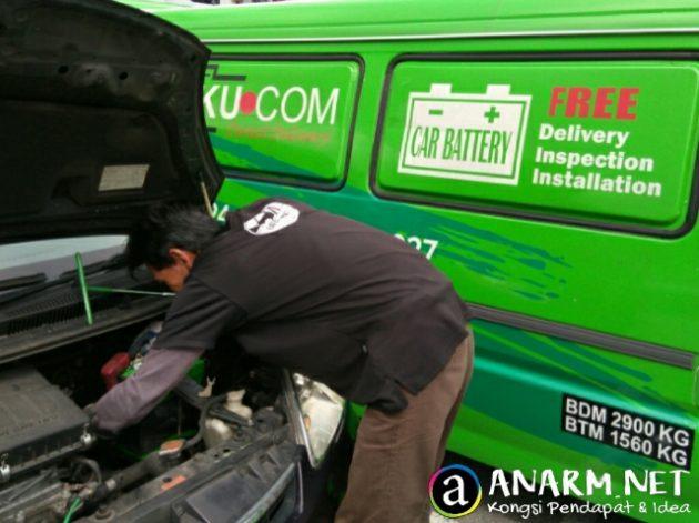Bateriku.com servis periksa dan pasang bateri kereta secara percuma