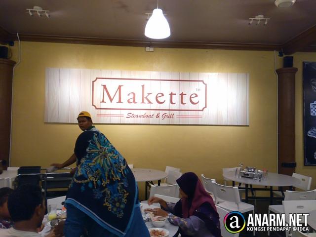 Makan sedap di Makette Steamboat & Grill, Tanah Merah, Kelantan