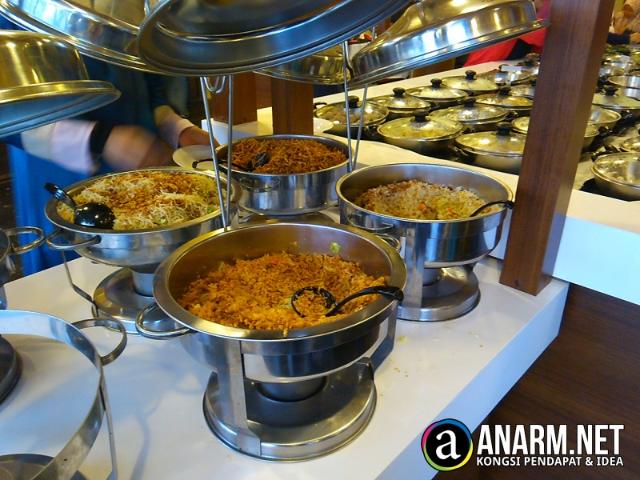 Hidangan sedap di Makette Steamboat & Grill, Kelantan
