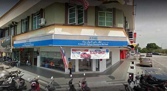 Pejabat ASNB cawangan Teluk Intan Perak