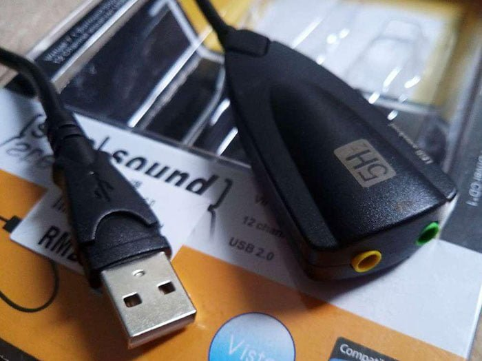 USB sound card murah