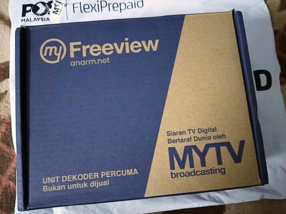 Dekoder percuma daripada MYTV