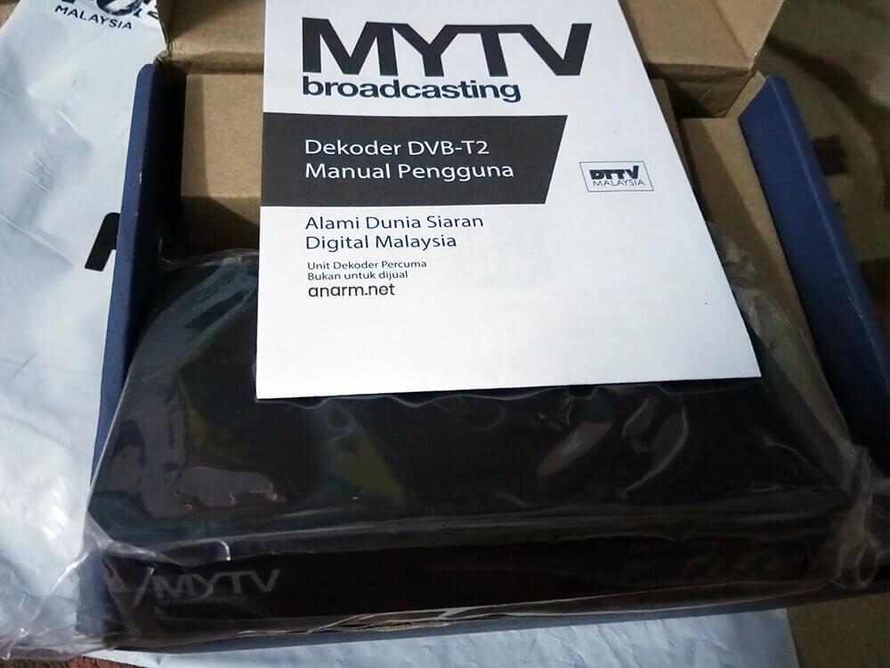 Set Dekoder MYTV percuma